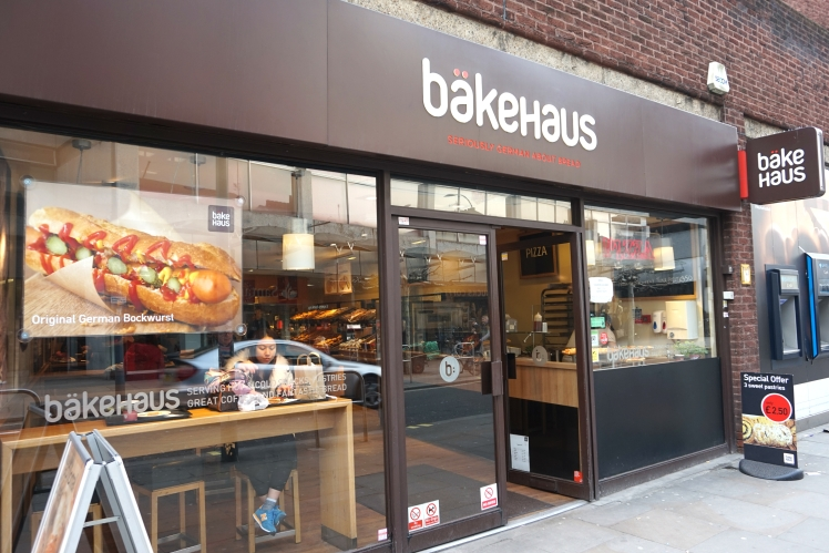 bakehaus outside