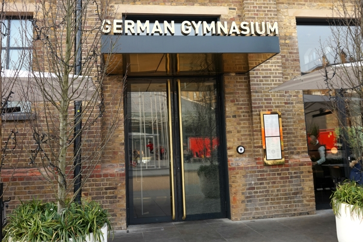 German gymnasium outise